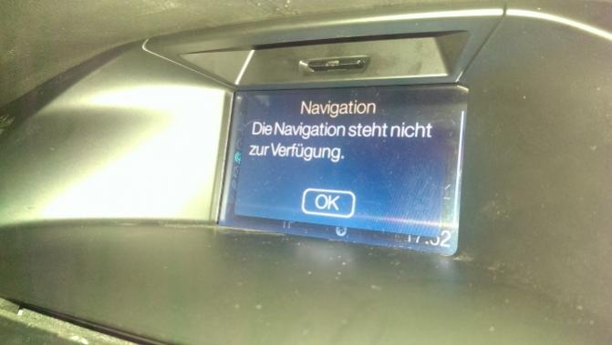 navi sd karte Focus 3 (Bj. Jan.11 Sep.14) DYB   Navigation nicht mehr Verfügbar