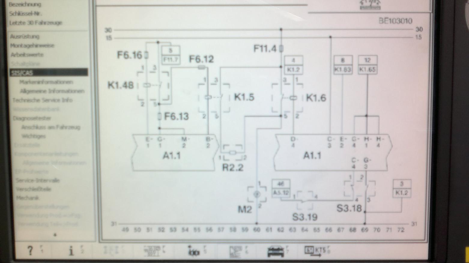 Fusion (Bj. 02-**) JU2 - E-Lüfter läuft ständig,