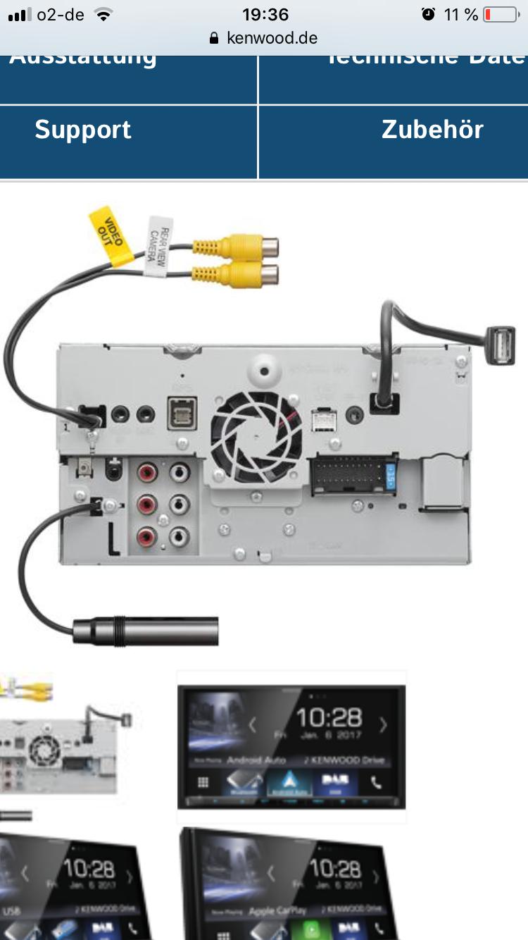 Focus 3 (Bj. Jan.11-Sep.14) DYB - Ford Focus MK3 2 Din Radio nachrüsten