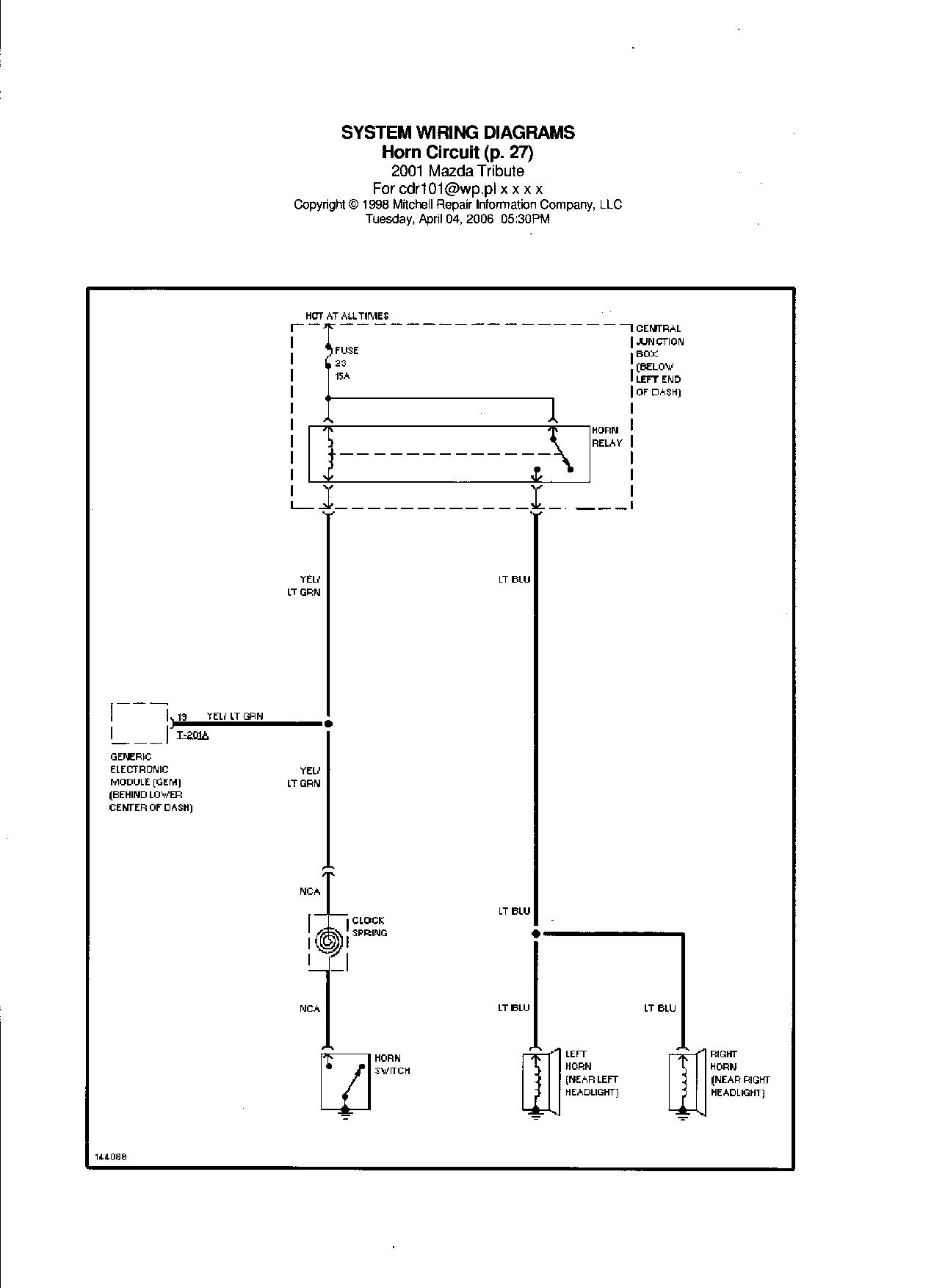 Beste Einfaches Schaltplan Horn Galerie - Elektrische Schaltplan ...