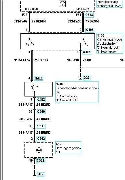 Fiesta 6 (Bj. 02-06) JH1/JD3 - Klassiker Klimaanlage Fehlfunktion ...