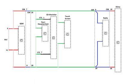 Mondeo 3 (Bj. 01-07) B4Y/B5Y/BWY - denso navi nachrüsten