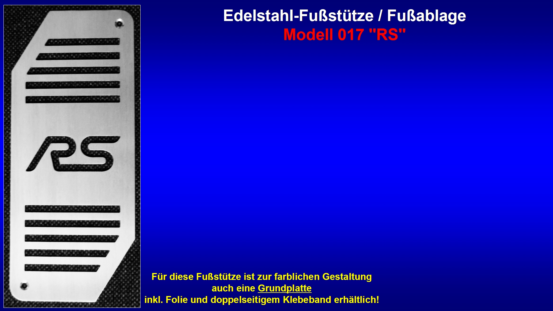 Präsentation Edelstahl-Fußstütze Modell 017 ''RS'' [RS-Logo].jpg