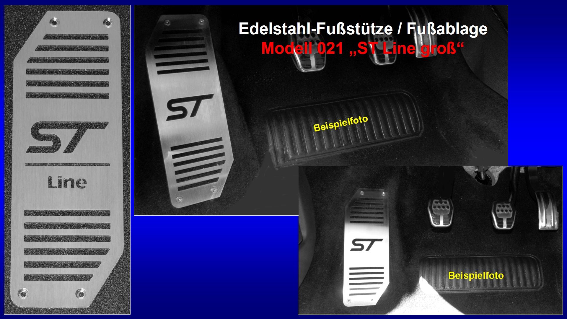 Präsentation Edelstahl-Fußstütze Modell 021 ''ST Line groß'' [ST-Logo, Line-Druckschrift].jpg