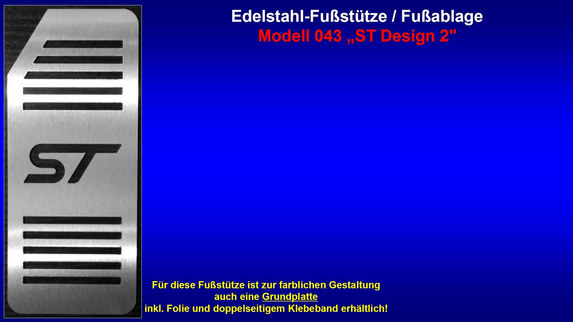 Präsentation Edelstahl-Fußstütze Modell 043 ''ST Design 2'' [ST-Logo].jpg
