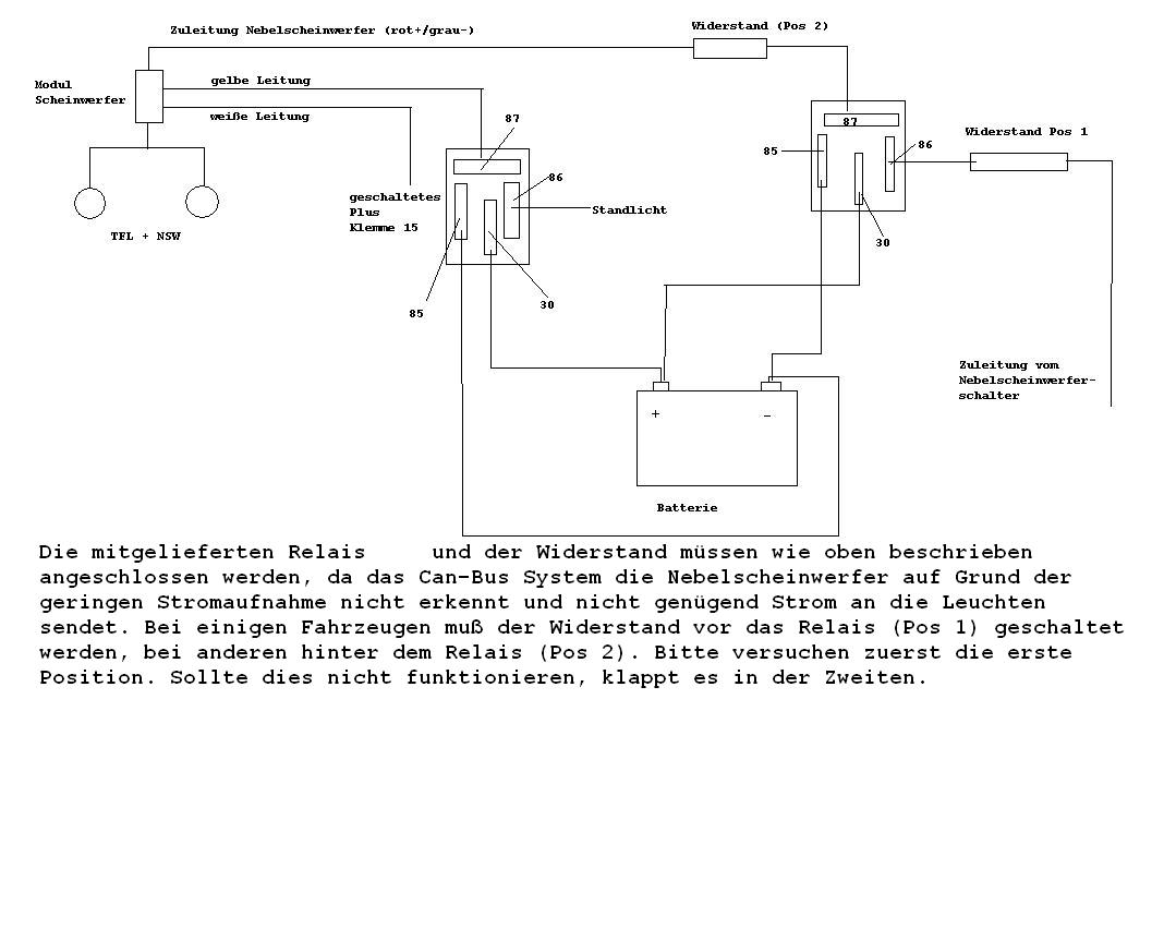 Focus 3 (Bj. Jan.11-Sep.14) DYB - LED TFL/NSW Anschluss-Probleme ...