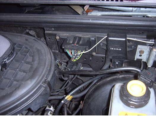Fiesta 3 Facelift (Bj. 94-96) GFJ - Drehzahlmesser anschliessen