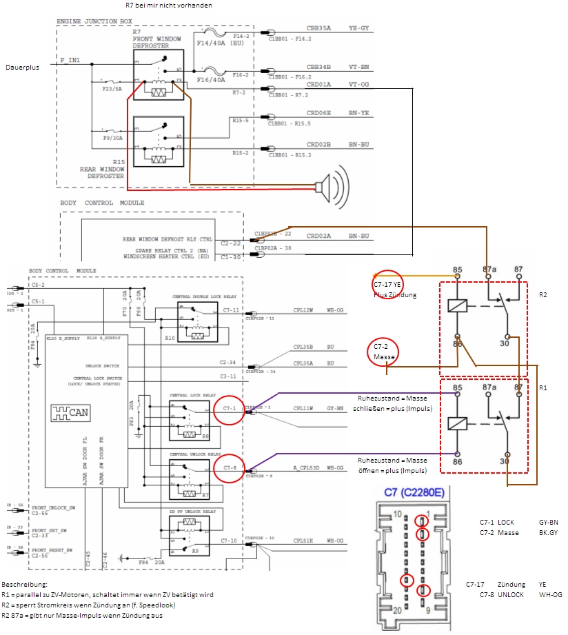 Mondeo Wiring Diagram